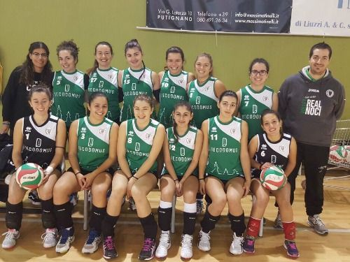 11 19 under18 real volley noci
