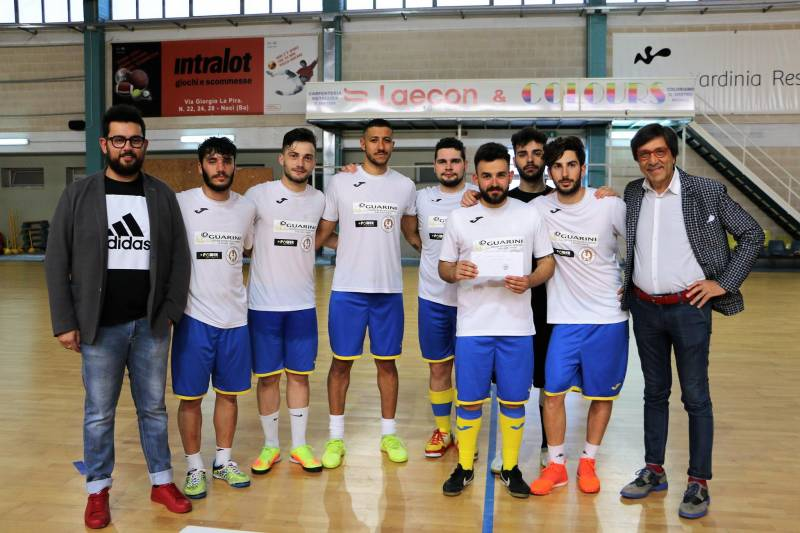 05 15 guarini cafe PRIMA CLASSIFICATA FUTSAL CUP