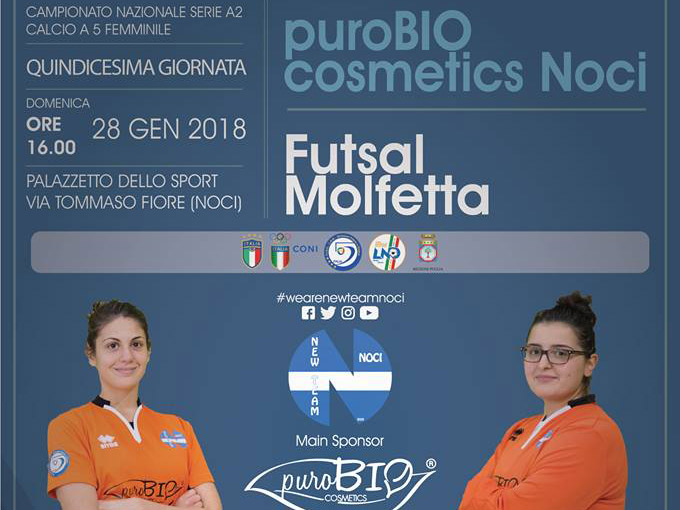 01 28 new team vs futsal molfetta