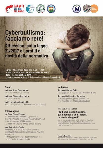 01 24 manifesto ferrara cyberbullismo
