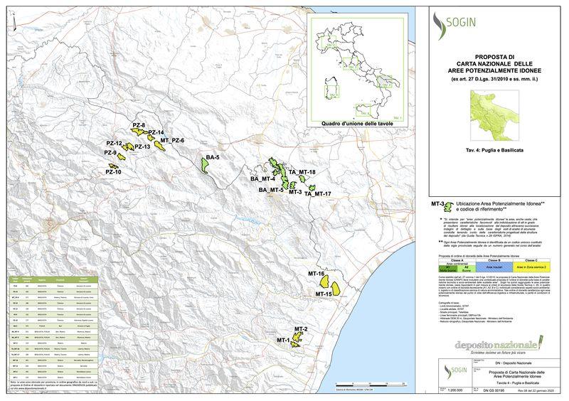 Cartina Puglia Noci.Noci24 It Scorie Nucleari Un Deposito A 40 Km Da Noci
